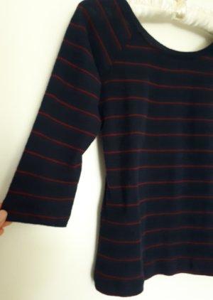 Breton Stil Bluse von Mango