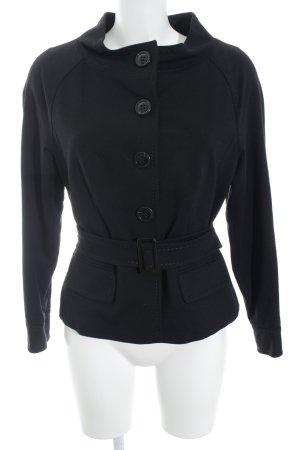 Breuninger Exquisit Jerseyblazer schwarz Elegant
