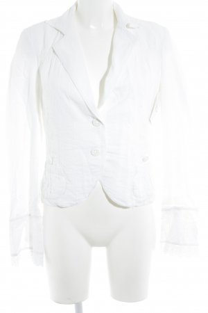 Breuninger Exquisit Short Blazer white romantic style