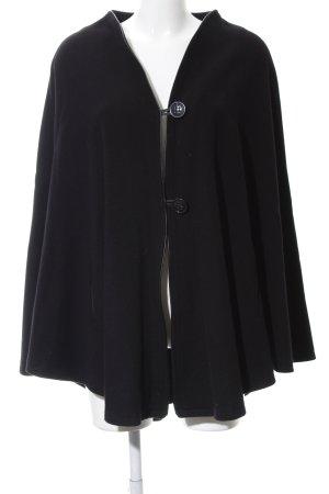 Breuninger Exquisit Poncho zwart elegant