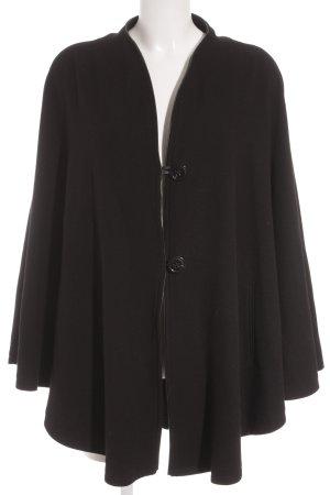 Breuninger Exquisit Poncho schwarz schlichter Stil