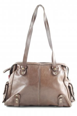 Breuninger Exquisit Shoulder Bag brown casual look