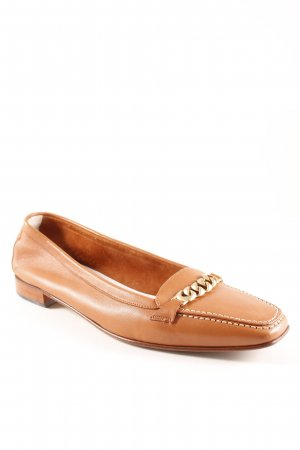 Breuninger Exquisit Slipper cognac Business-Look