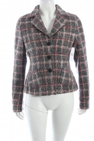 Breuninger Exquisit Wool Blazer check pattern