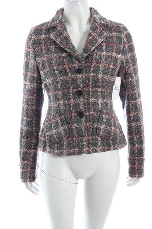 Breuninger Exquisit Woll-Blazer Karomuster