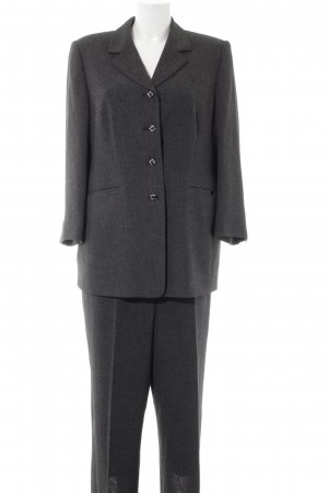 Breuninger Trouser Suit grey brown business style