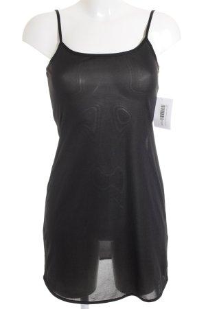 Breuninger Trägerkleid schwarz schlichter Stil