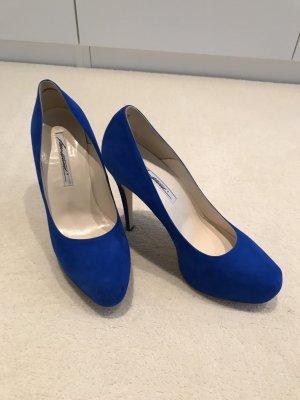 Brian Atwood Pumps leuchtend-blau