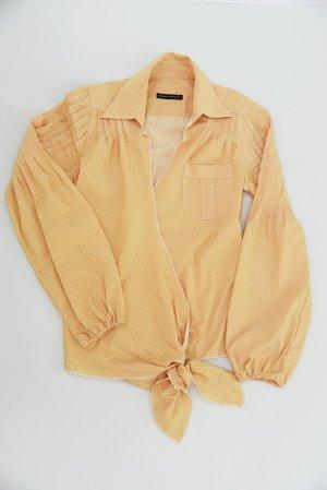 BRIAN DALES – Hemd im Wickelstyle mit außergewöhnlichem Schnitt – Gr. 36