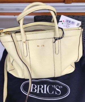 Bric's Tasche crossbody Bag vanillegelb neu