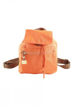 Bric's Trekking Backpack cognac-coloured-orange athletic style