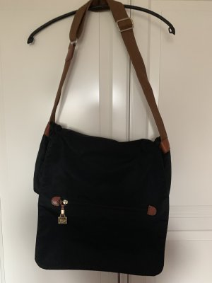 Bric's Crossbody bag black-brown