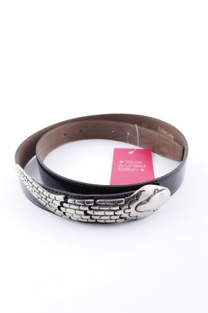 BricCinO Leather Belt black business style
