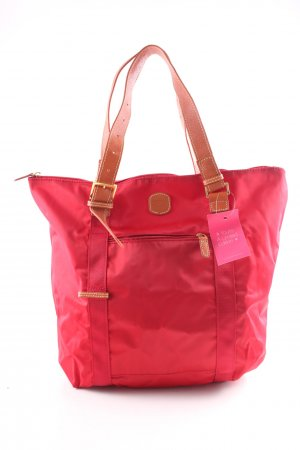 Brics Carry Bag red casual look