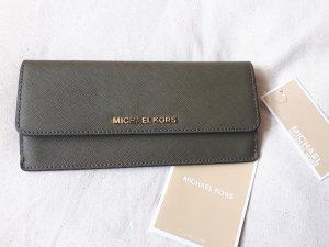 Brieftasche Jet Set Travel Slim aus Saffianleder NEU mit Etikett