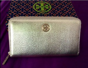 Tory Burch Wallet gold-colored