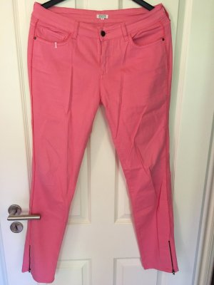 Brigitte Bardot Jeans rosa mit Neon Detail