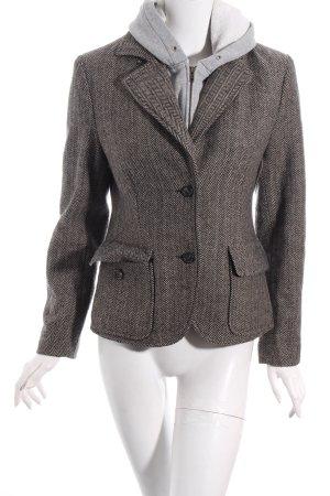 Brigitte von Boch Blazer schwarz-braun Street-Fashion-Look