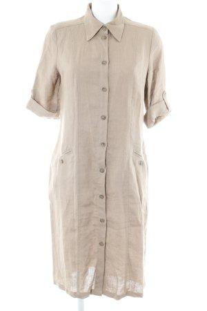 Brigitte von Boch Robe chemise chameau style décontracté