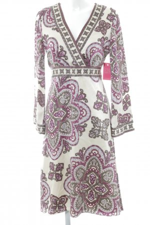 Brigitte von Boch Hippie Dress abstract pattern Boho look