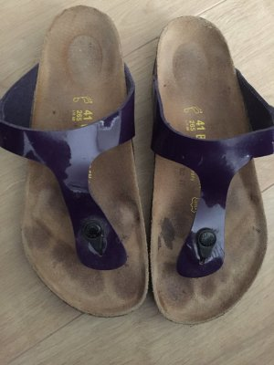 Birkenstock Toe-Post sandals lilac