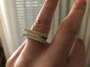 Brillantring Gold mit 0,40 Karat Diamanten