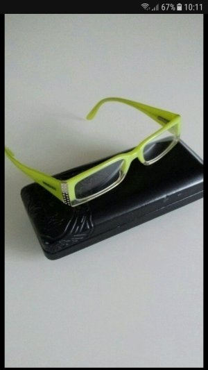 Versace Glasses lime-green