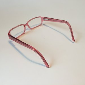Armani Glasses pink acetate