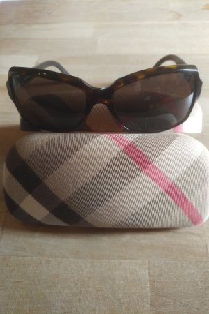 Burberry Angular Shaped Sunglasses bronze-colored-gold-colored