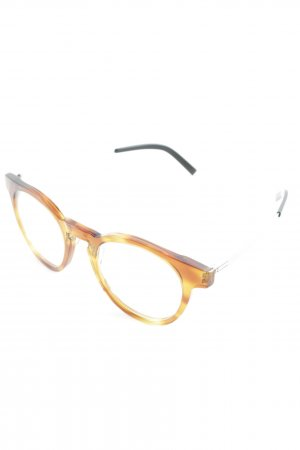 Glasses cognac-coloured-black color gradient casual look