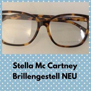 Stella McCartney Hoekige zonnebril beige-bruin kunststof