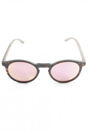 Brille hellbraun-pink Casual-Look
