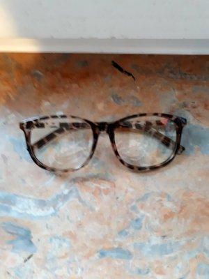 Glasses brown-dark brown synthetic material