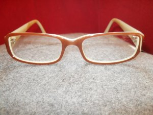 Glasses light brown-cream