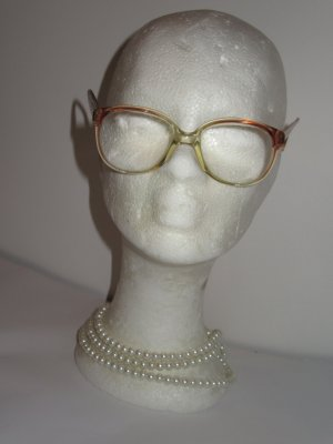 Vintage Glasses light brown