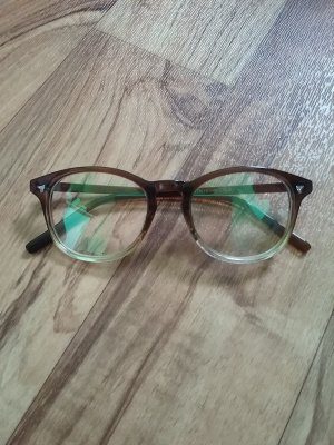 Glasses light brown synthetic material