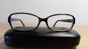 Brille, Ralph Lauren, braun/Horn