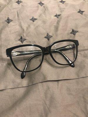 """Brille Roberto Cavalli schwarz 300€ (""""Lehrer  Brille"""") Gestell Hornbrille"""