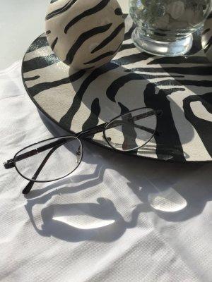 Brille Schwarz (Ersatzbrille)