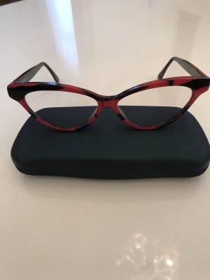 Gafas negro-rojo