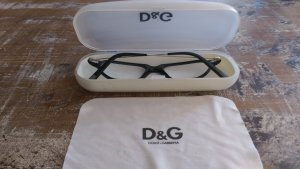 Dolce & Gabbana Glasses black-silver-colored
