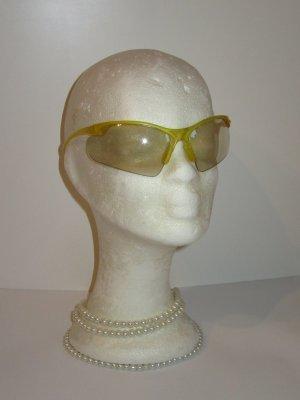 Brille Vintage Retro gelb