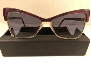 Andy Wolf Eyewear Lunettes violet-doré