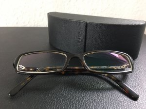 Prada Glasses black brown-silver-colored