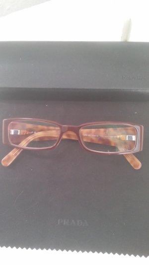 Brille von Prada rötlich-braun