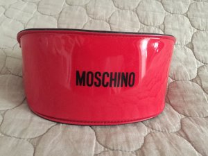 Moschino Glasses red synthetic material