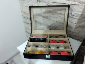 Glasses black-cream
