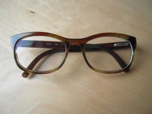 Calvin Klein Glasses dark green-brown synthetic material
