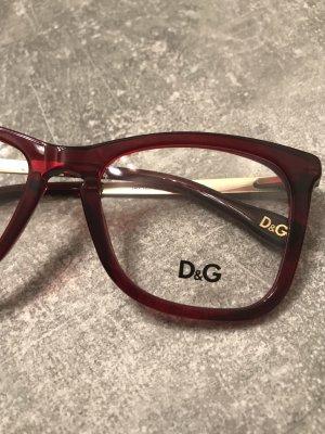 Dolce & Gabbana Lunettes rouge carmin