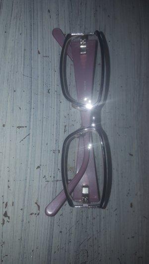 Miu Miu Occhiale squadrato argento-viola